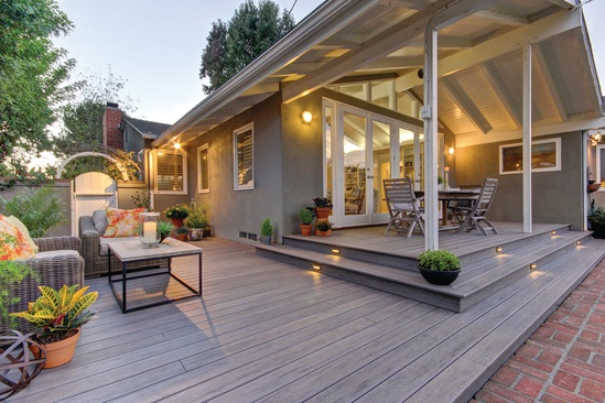 Ideas For Patios Decks Using An Automatic Plant Watering System