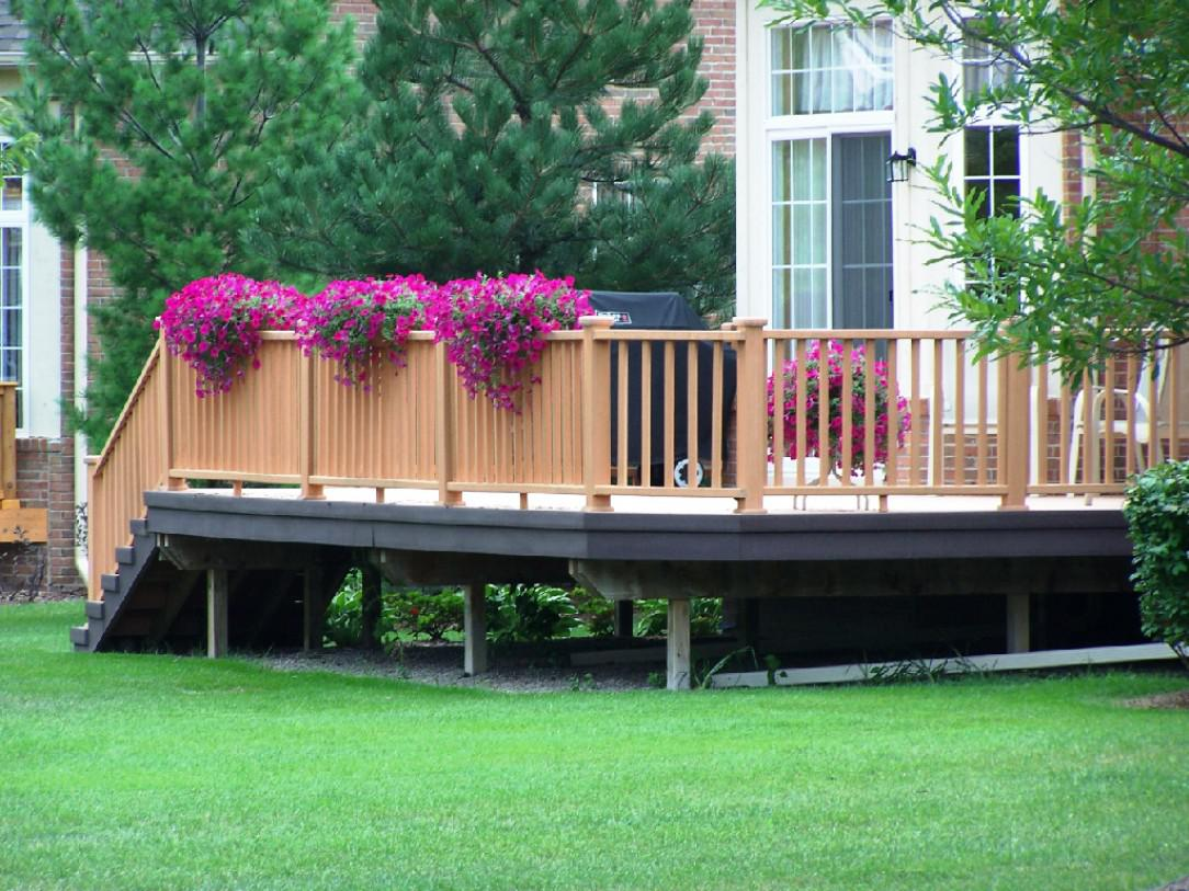 Ideas for patios decks using an automatic plant watering - Deck ideas for home ...