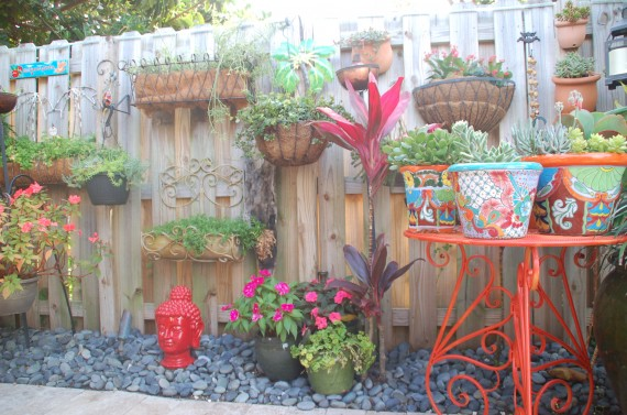 Drip Hose Irrigation Can Be Used For Your Fence Planters