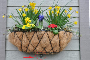 Fence or wall planter