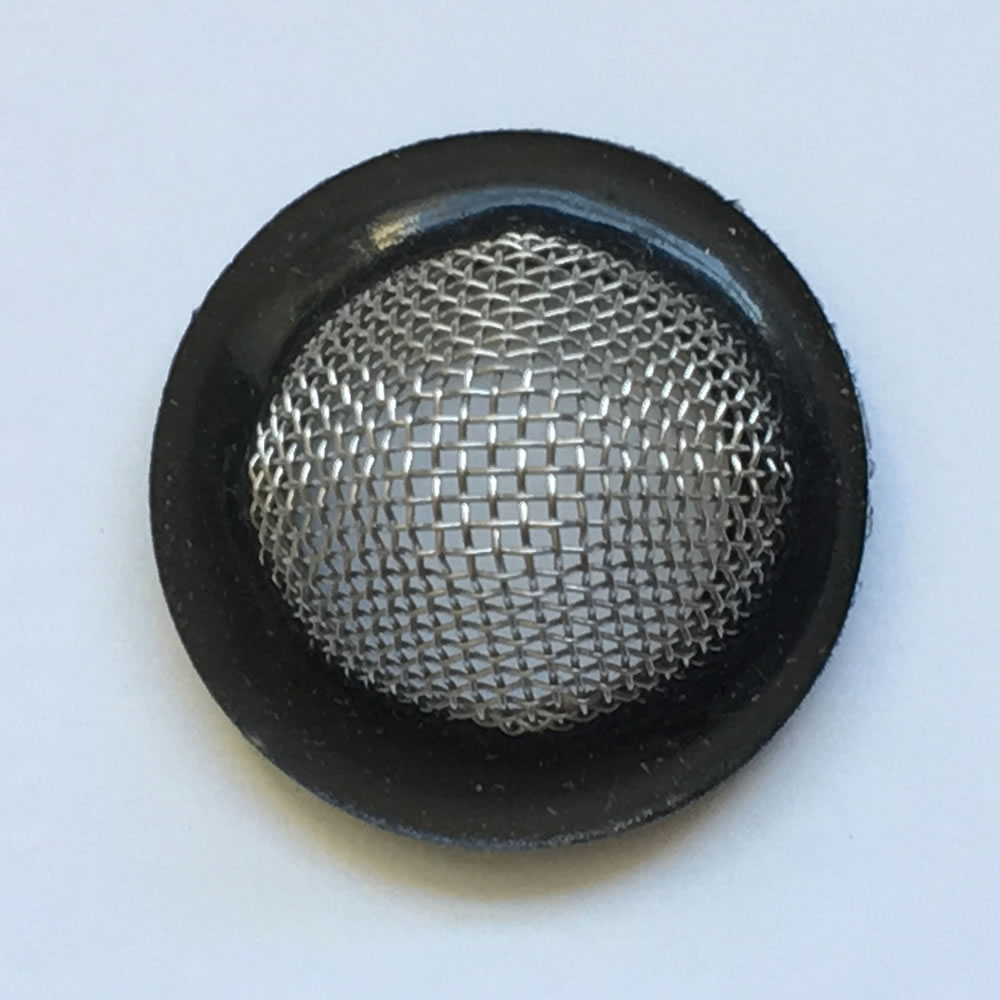 inline filter strainer